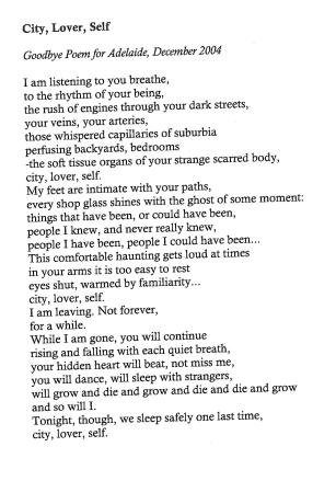 City Lover Self